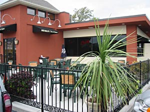 Enjoy the patio